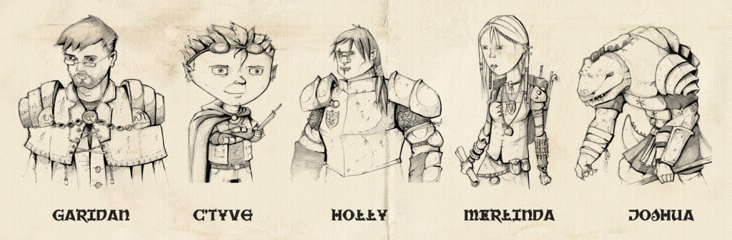 season-one-characters